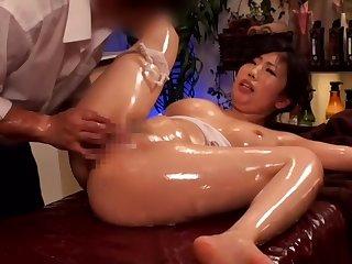 Asian, Brunette, Japanese, Massage